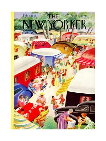The New Yorker Cover - February 8, 1941