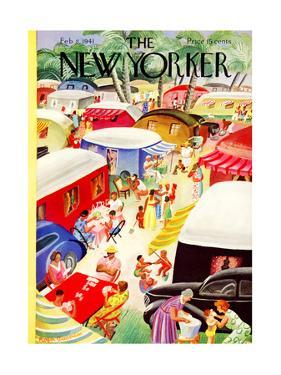 The New Yorker Cover - February 8, 1941 by Roger Duvoisin