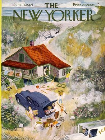 The New Yorker Cover - June 12, 1954