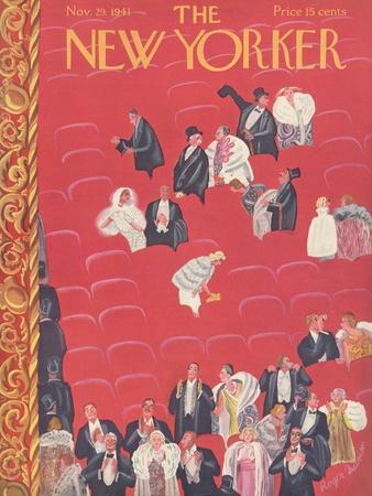 The New Yorker Cover - November 29, 1941