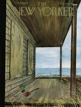 The New Yorker Cover - October 23, 1954