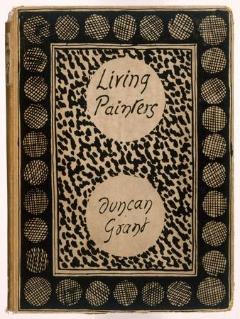 Book Jacket of 'Living Painters' by Duncan Grant, 1923 (Litho)