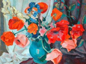 Poppies, 1917 by Roger Eliot Fry