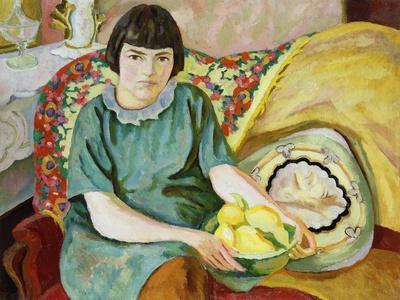 Portrait of Zoum Van Den Eeckhoudt, 1915