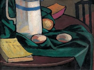 Still Life: Jug and Eggs, 1911