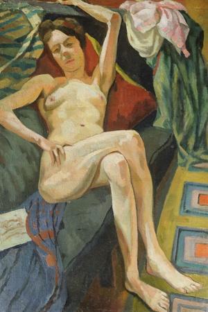 Woman on Sofa, c.1915