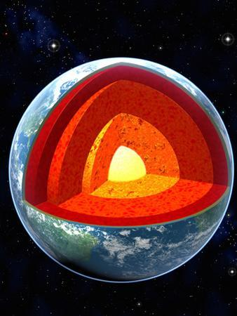 Earth's Internal Structure by Roger Harris