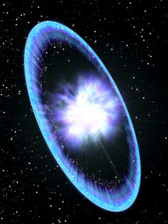 Supernova Explosion by Roger Harris
