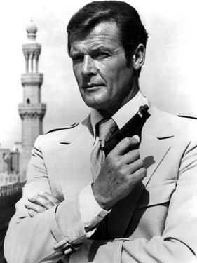 "Roger Moore. ""The 007, James Bond: Spy Who Loved Me"" [1977], Directed by Lewis Gilbert."
