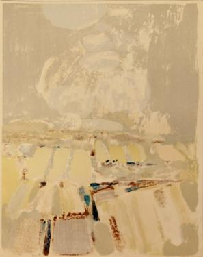 Champs au Printemps by Roger Muhl