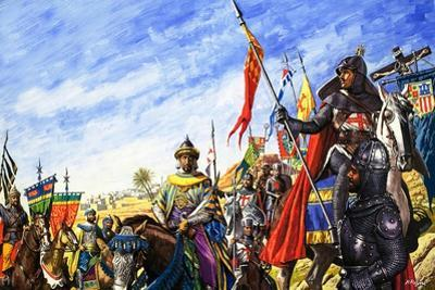 Frederick II in the Crusades by Roger Payne