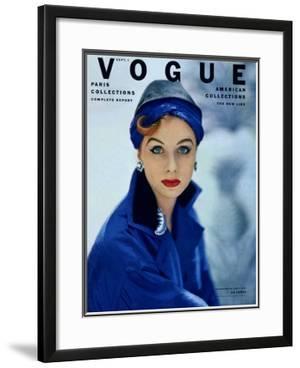 Vogue Cover - September 1952 by Roger Prigent