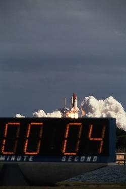 Countdown to Space Shuttle Discovery Launch by Roger Ressmeyer
