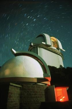 Domes at McDonald Observatory by Roger Ressmeyer