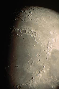 Mare Imbrium and Apennine Mountains by Roger Ressmeyer