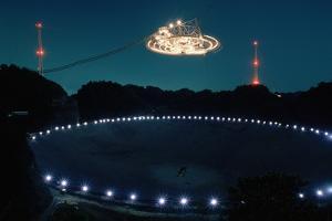 Radio Telescope in Puerto Rico by Roger Ressmeyer