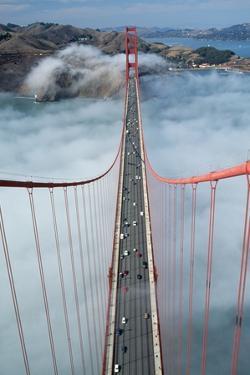 Road Deck of the Golden Gate Bridge by Roger Ressmeyer