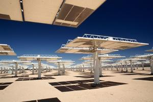Solar Power Reflectors at Solar Power Plant by Roger Ressmeyer