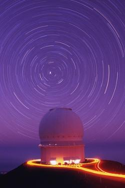 Star Trails Above Observatory by Roger Ressmeyer