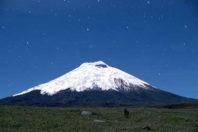 Stars over Cotopaxi Volcano by Roger Ressmeyer