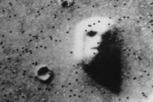 """The """"Face"""" on Mars by Roger Ressmeyer"""