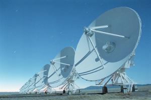 Very Large Array by Roger Ressmeyer