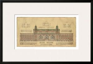 Ellis Island by Roger Vilar