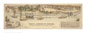 Hanging Gardens of Babylon by Roger Vilar