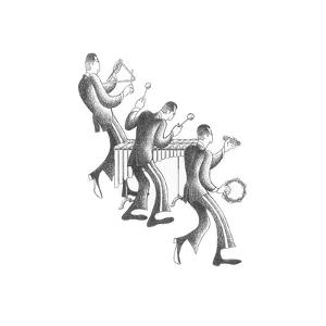 Marimba Section by Roger Vilar