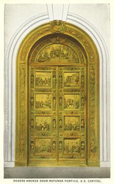 Rogers Door, Capitol, Washington D.C.