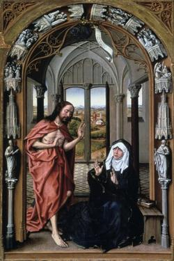 Christ Appearing to His Mother, C1440 by Rogier van der Weyden
