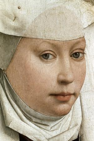 Detail of Portrait of a Young Woman