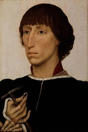 Francesco d'Este, c.1460 by Rogier van der Weyden