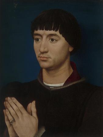 Portrait of Jean Gros, 1460-64 by Rogier van der Weyden