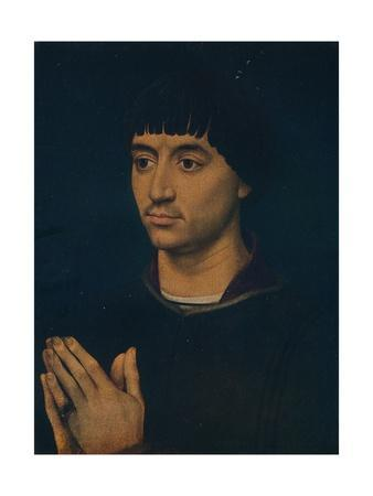'Portrait of Jean Gros', c1460