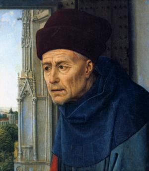 St. Joseph, C1445 by Rogier van der Weyden