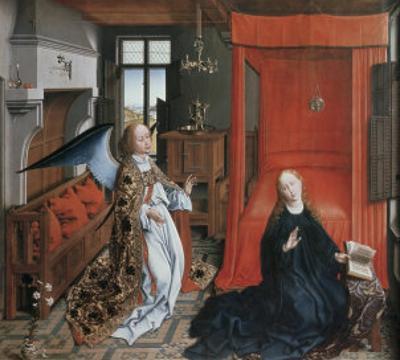 The Annunciation, no.2 by Rogier van der Weyden
