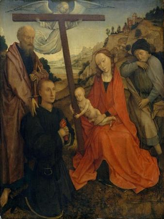 The Holy Family with Saint Paul and a Donor by Rogier van der Weyden