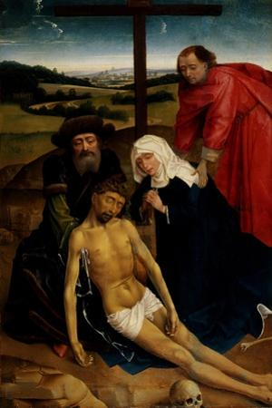 The Lamentation of Christ, C.1460-75 by Rogier van der Weyden