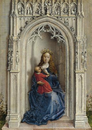 The Virgin and Child Enthroned, Ca. 1433
