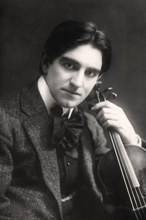 Rohan Clensy, Irish Violinist, 1907