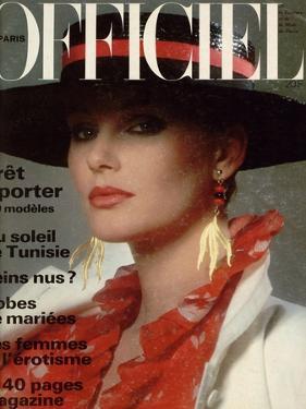L'Officiel, April 1978 - Yves Saint Laurent by Roland Bianchini