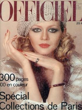 L'Officiel, March 1975 - Ensemble de Christian Dior by Roland Bianchini