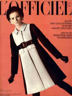 L'Officiel, October 1967 - Jeanne Lanvin by Roland Bianchini