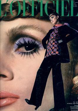 L'Officiel, October 1968 - Ensemble d'Yves-Saint Laurent en Jersey de Racine by Roland Bianchini