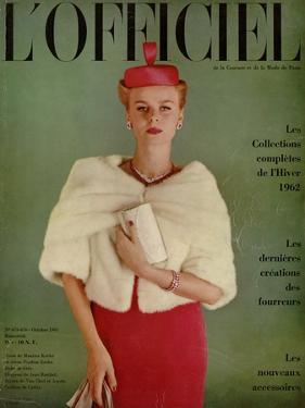 L'Officiel, October 1961 by Roland de Vassal