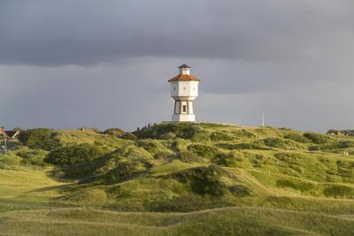 Germany, Lower Saxony, Island Langeoog, Water Tower, HŸgellandschaft