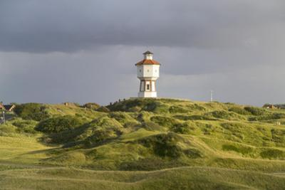 Germany, Lower Saxony, Island Langeoog, Water Tower, HŸgellandschaft by Roland T.