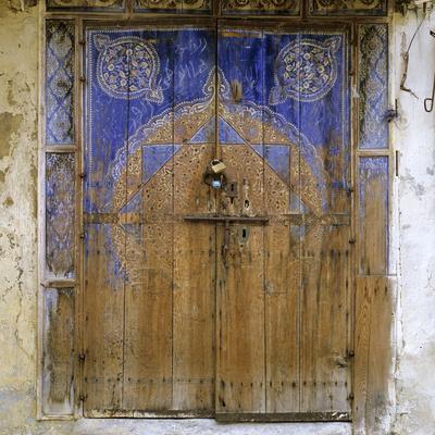 Morocco, Meknes, Medina, Wood-Gate, Old, Weathers
