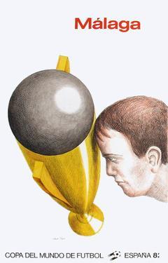 Coupe du Monde de Football 82 by Roland Topor